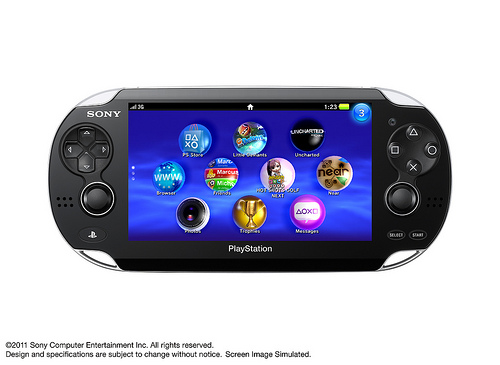 Sony PSP2 NGP