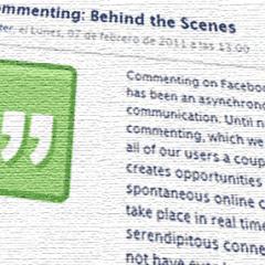 Facebook explica como funcionan los nuevos comentarios en tiempo real