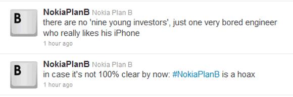 Nokia Plan B