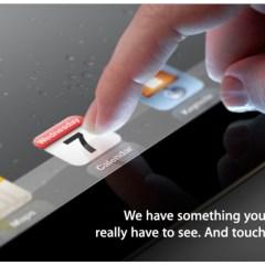 iPad 3 para el 7 de marzo