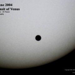 Venus pasará frente al Sol este 5 de junio