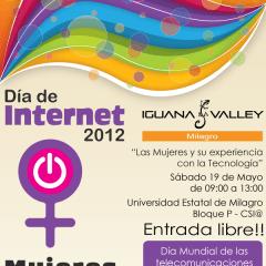 Iguana Valley Milagro participará en los festejos del Día de Internet
