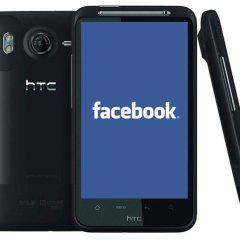 Facebook trabaja en un teléfono, nuevamente