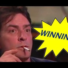 """Winning"": la canción de Charlie Sheen en auto-tune"