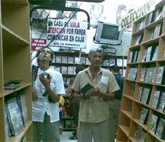 Vender discos piratas es legal en el Ecuador