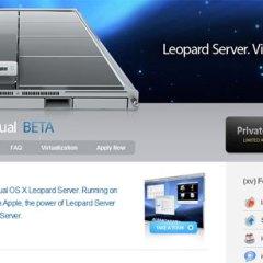 Media Temple ofrece el primer VPS con OSX Leopard