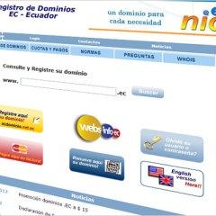 Promoción para dominios nuevos de Ecuador en Nic.ec