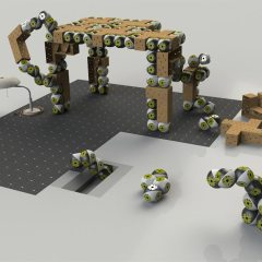 Roombots, los robots que se convierten en muebles