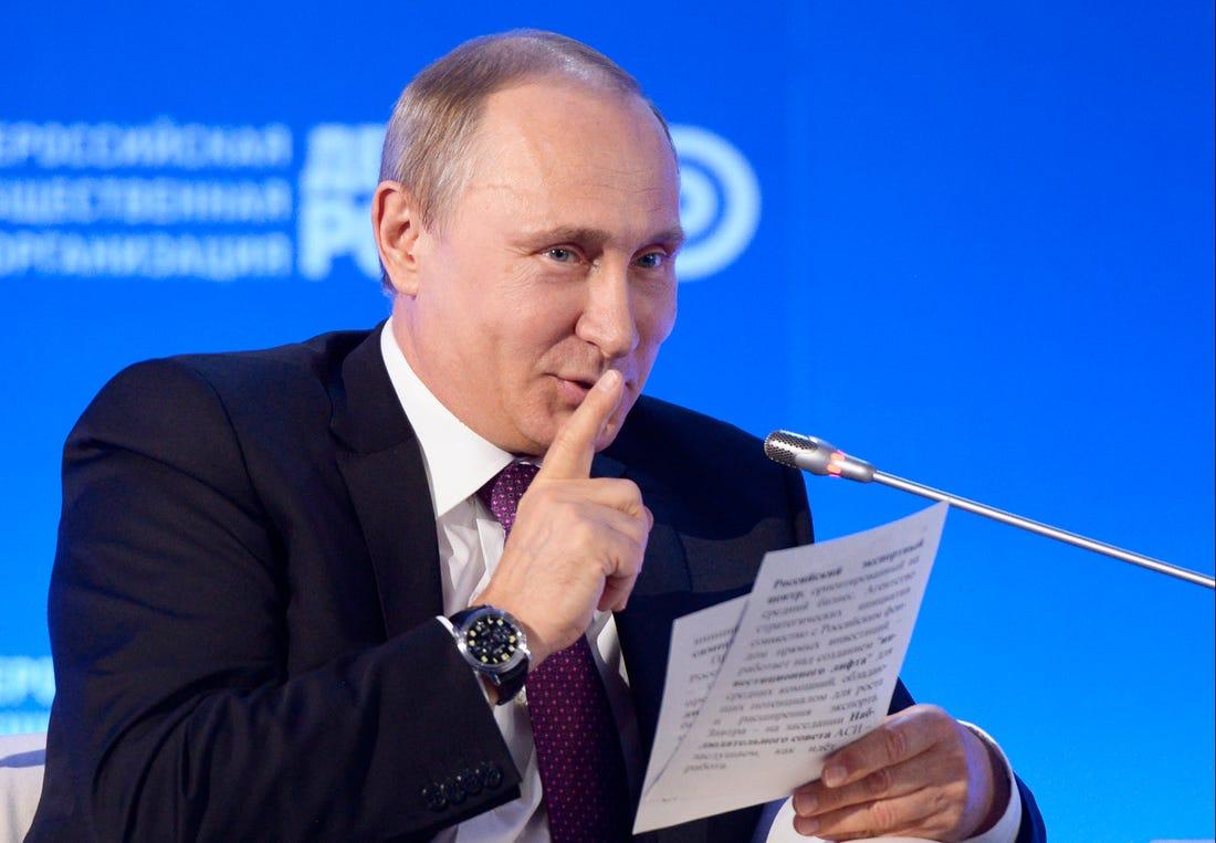 Putin dice que Estados Unidos y Rusia deberían tener un acuerdo de 'no hacking'