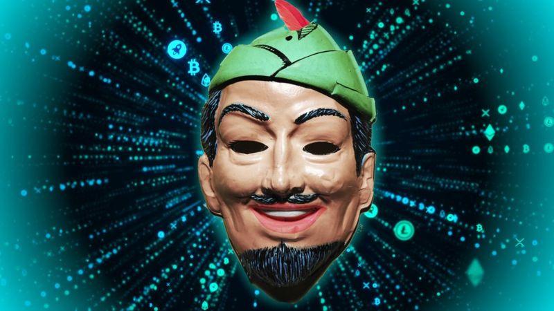 """Hackers misteriosos """" los Robin Hood"""" que roban para dar a la caridad"""