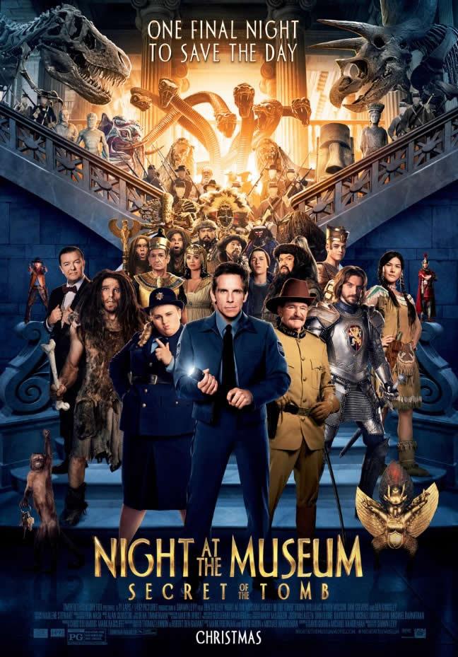 Poster do filme Uma Noite no Museu