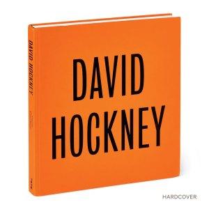 Catálogo em capa dura da exposição de David Hockney no Metropolitan de N.York