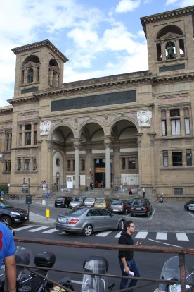 The Biblioteca Nazionale Centrale - a library holding many precious writings.