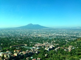 Mount Vesuvius with Naples in the foreground
