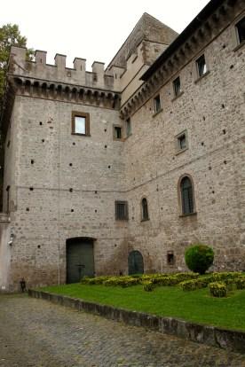 The library in Grottaferrata