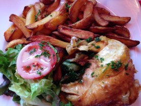 My chicken and chips lunch
