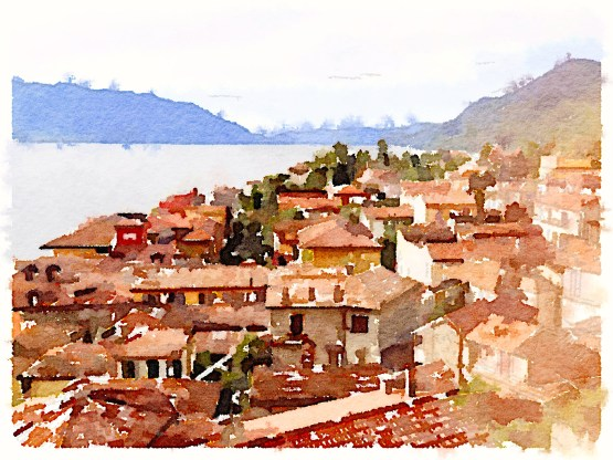 Rooftops, Lake Maggiore