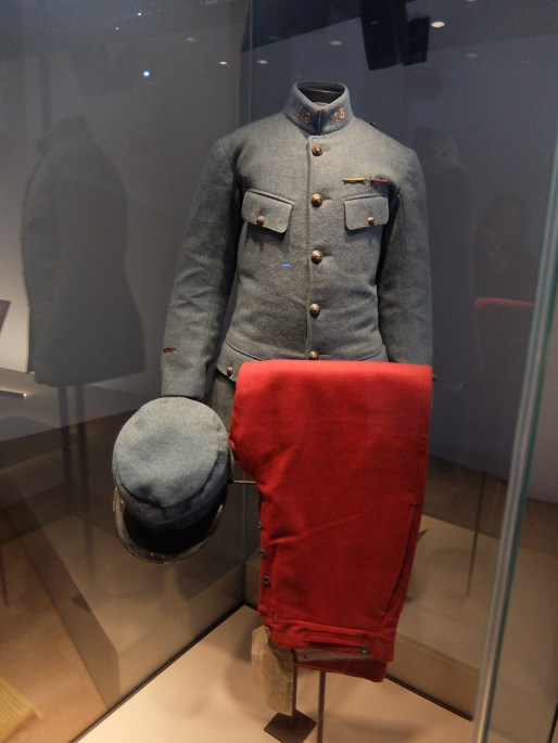 Uniform of French soldier