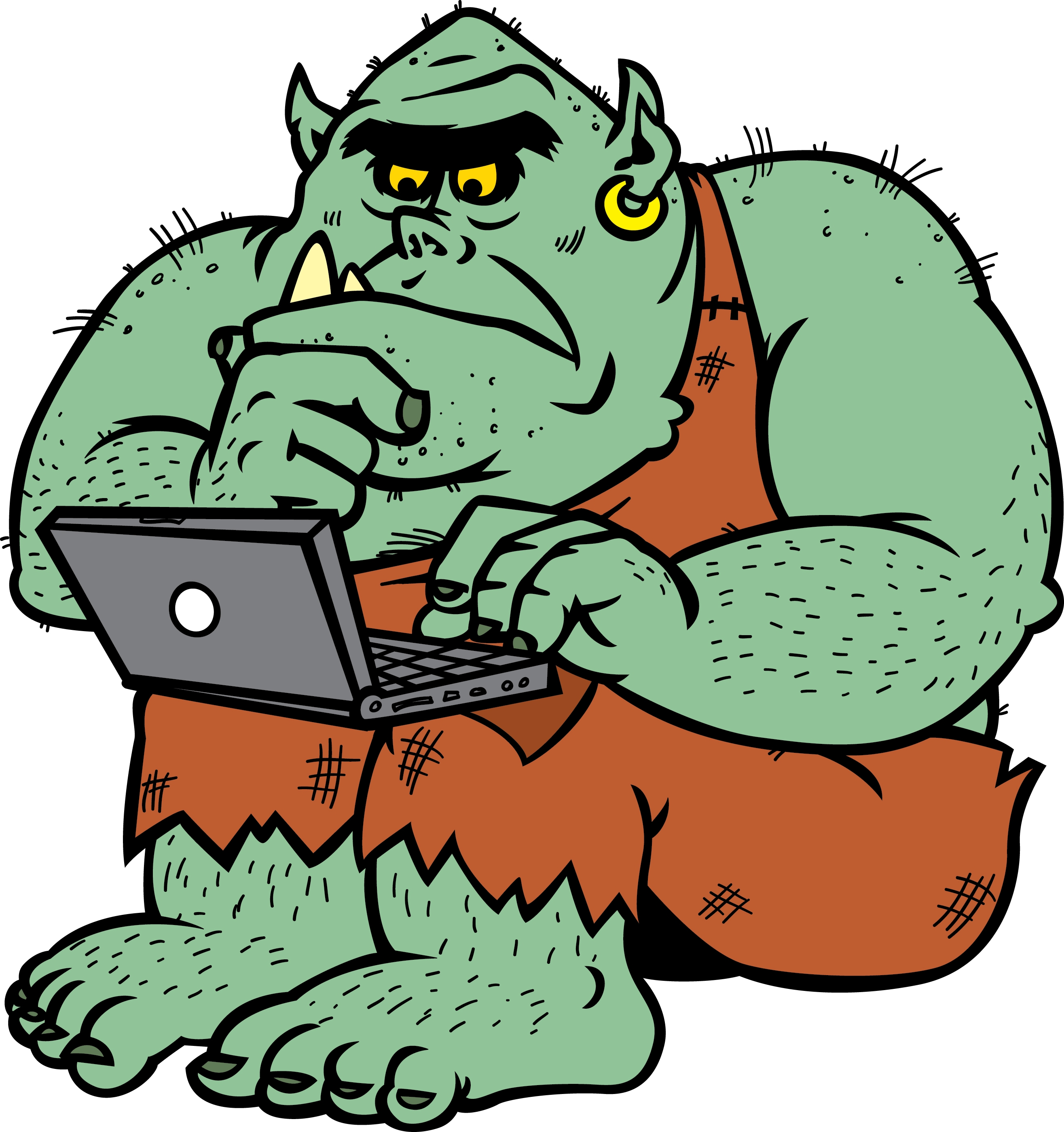 Picture of a troll