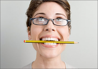 Pencil-in-Mouth