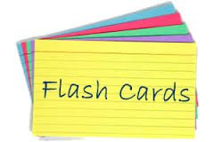 Flashcards Build Memory Skills