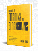Click to buy the Basics of Bitcoins and Blockchains
