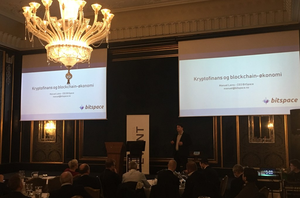 BitGate sponsoring and presenting at Hegnar seminar