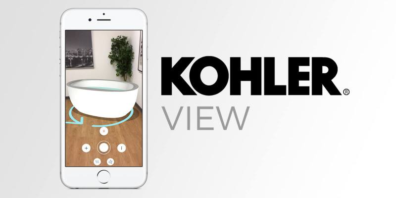 Kohler View AR application