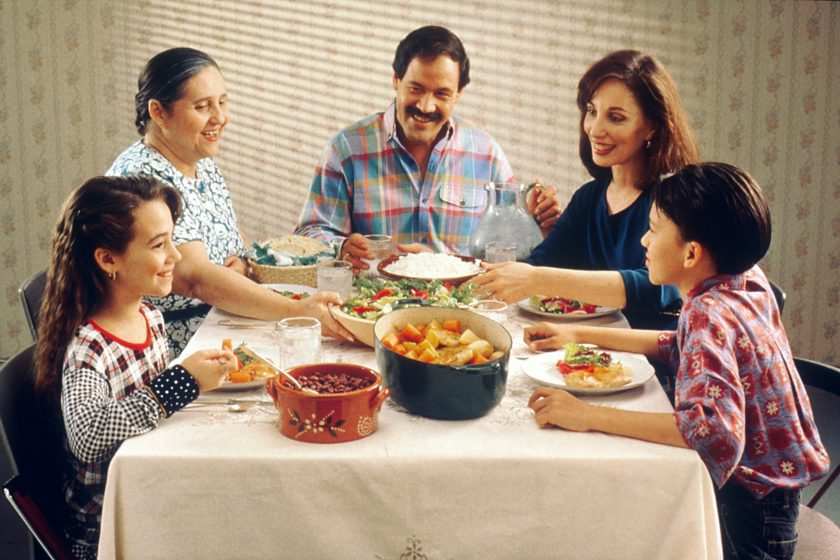 Family Questions at Dinner Time in Family Questions