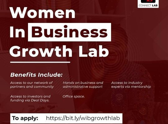 Women In Business Growth Lab 2020 for Nigerians female Entrepreneurs