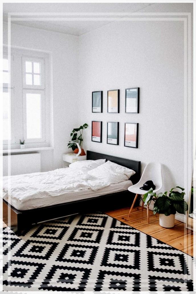tempat tidur rendah minimalis