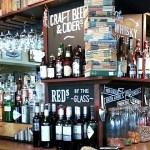 Bar at The Rickety Press in Oxford