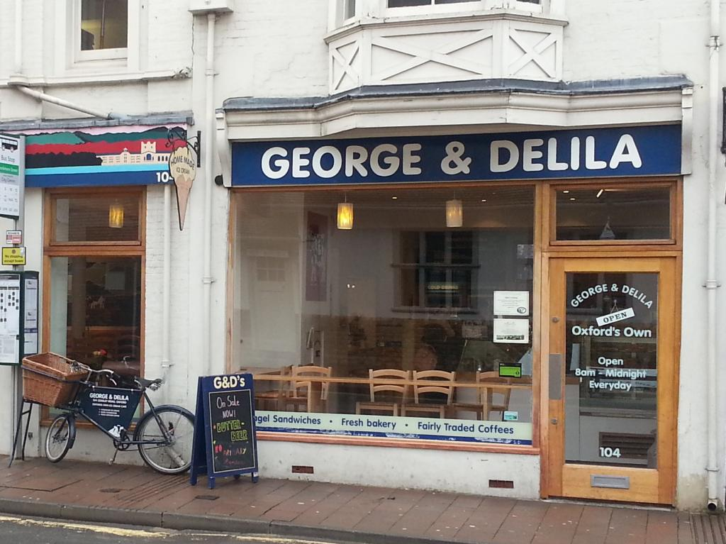 George and Delila in Oxford