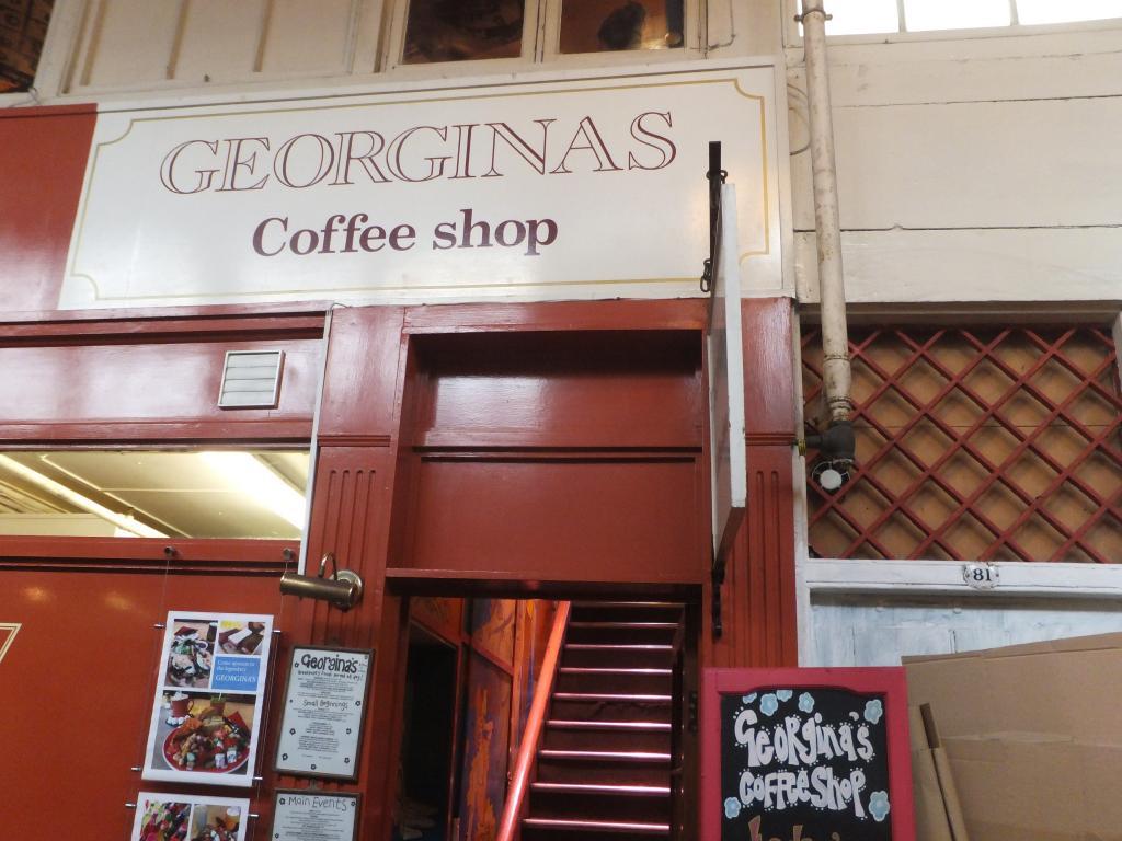 Georginas Cafe in Oxford