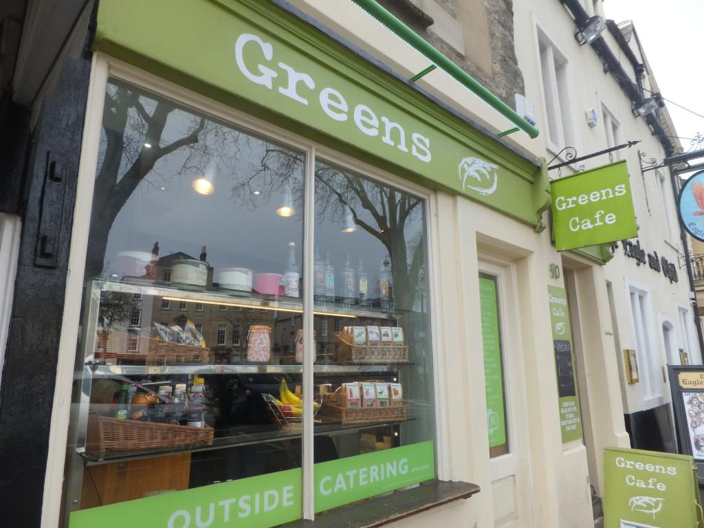 Greens Cafe in Oxford