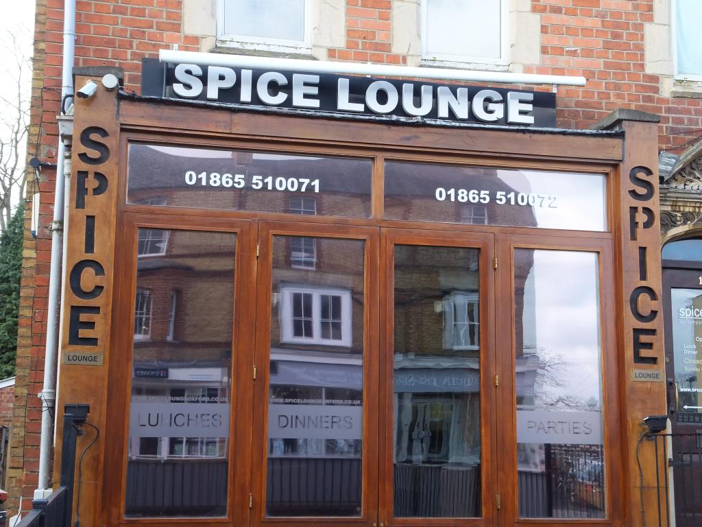 Spice Lounge in Oxford
