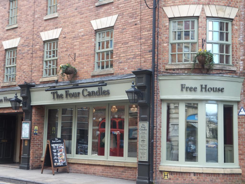 The Four Candles in Oxford