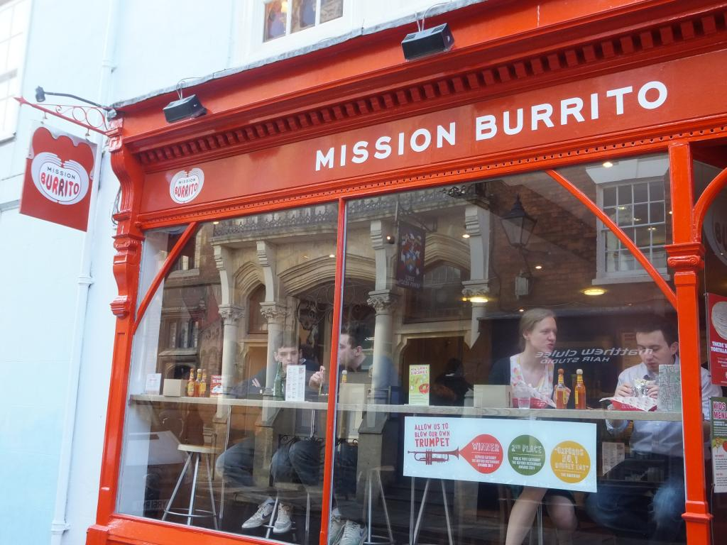 Mission Burrito on St Michaels in Oxford