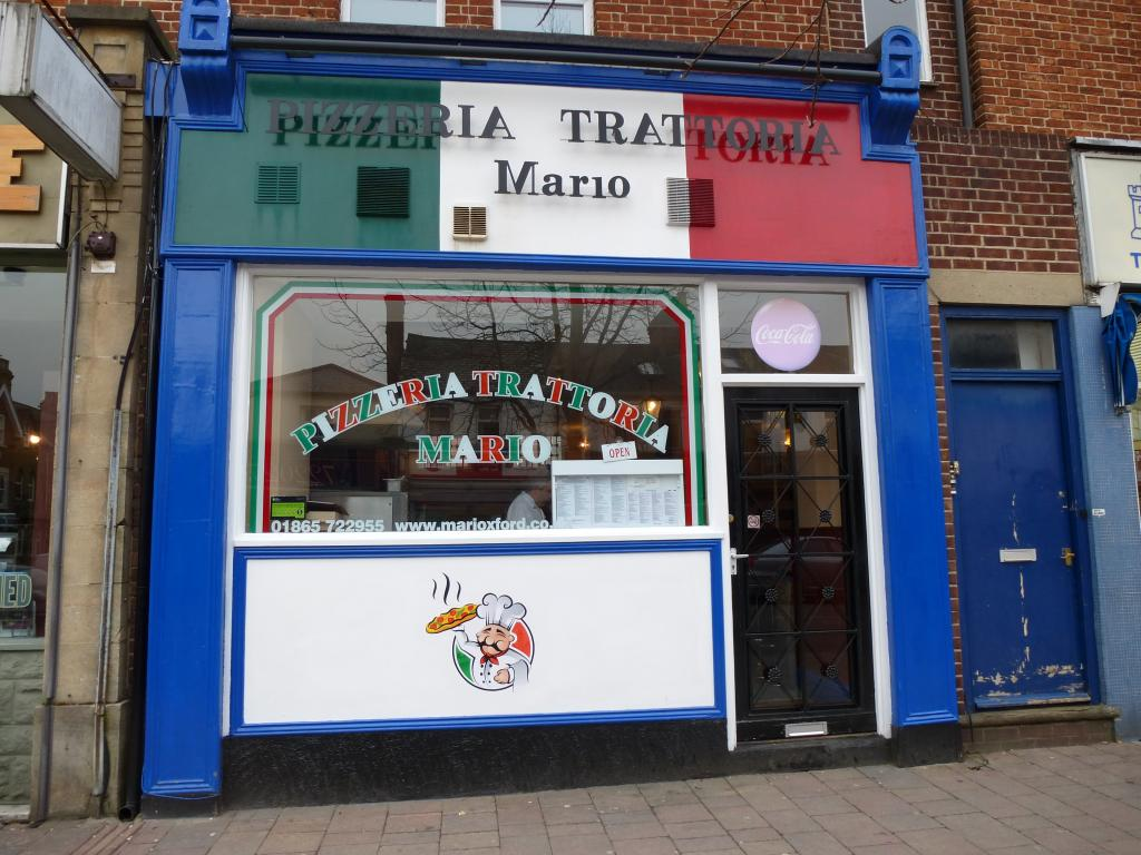 Pizzeria Trattoria Mario in Oxford