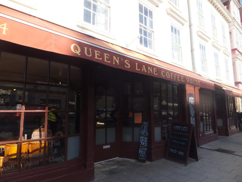 Queens Lane Coffeehouse in Oxford