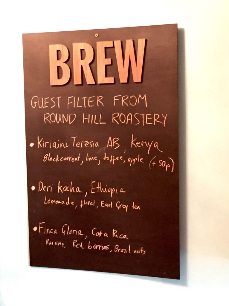 Brew Oxford - Coffee Offerings