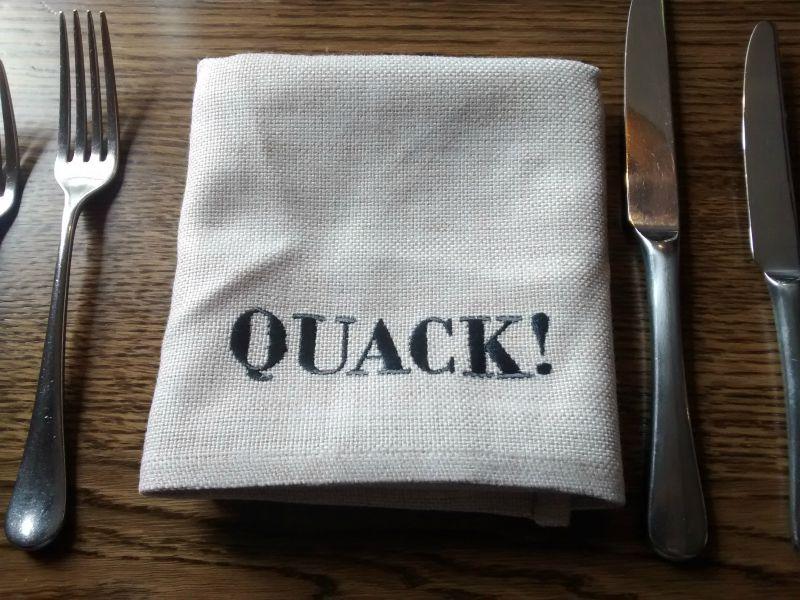 Muddy Duck Hethe Table Linen