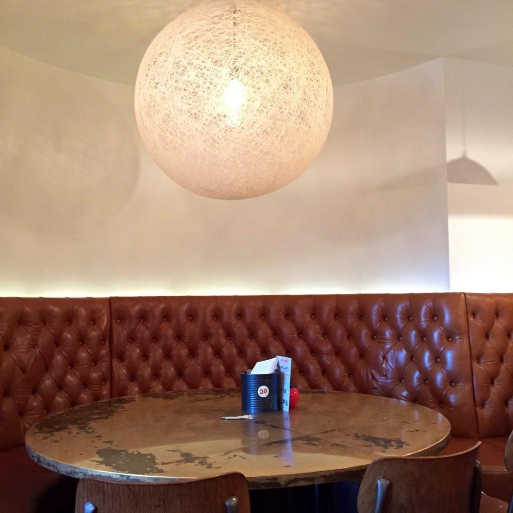 Gourmet Burger Kitchen Oxford - Interior Seating