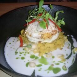 Monkfish, Dahl, Coconut