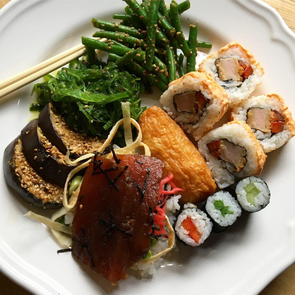 Roll With Me Sushi Plate