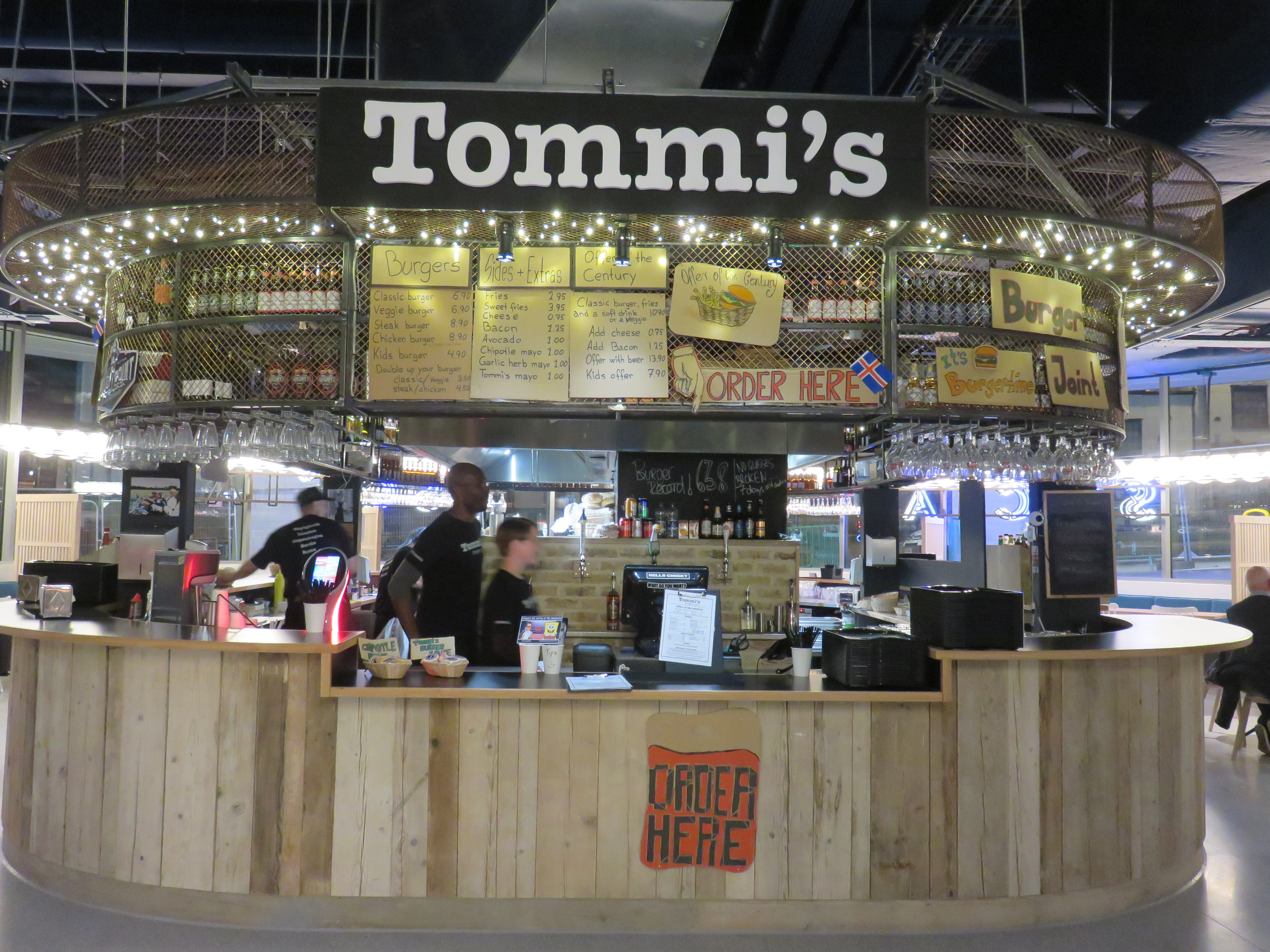 Tommi's Burger Joint at Westgate Oxford | Image Credit Bitten Oxford