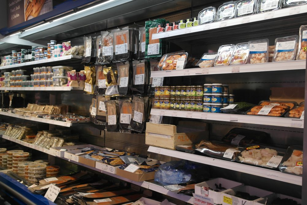 Deli shelves at Osney Food Shed Haymans Fishmarket | Bitten Oxford