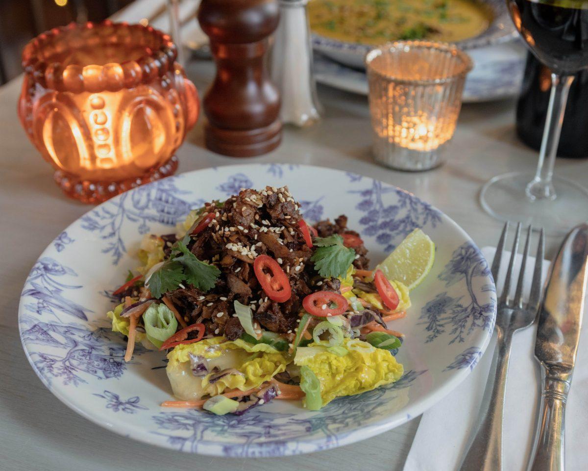 Bill's Vegan Duck Salad