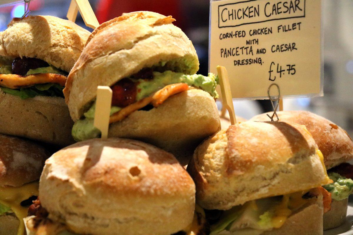 Branca Oxford - Sandwich
