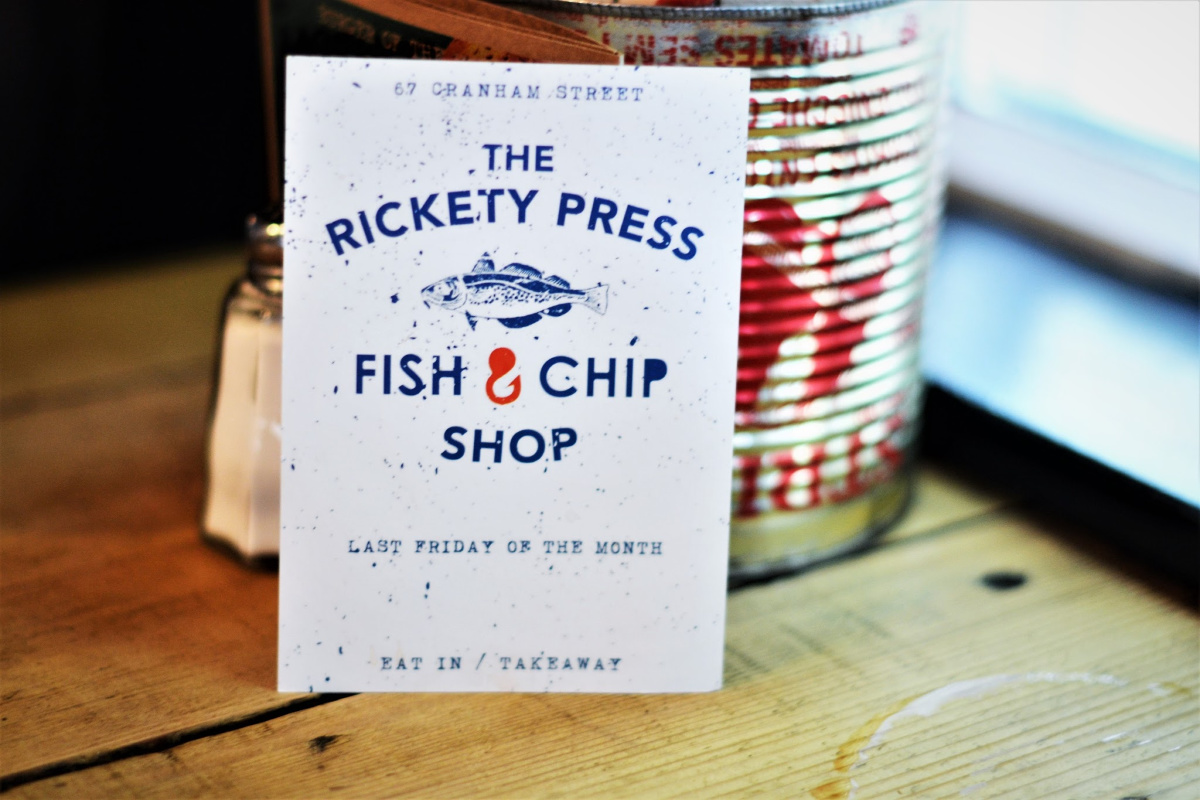 The Rickety Press Oxford Fish & Chips | Image Bitten Oxford